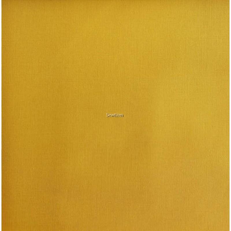 premium woven cotton yellow gold color kain cotton warna kuning