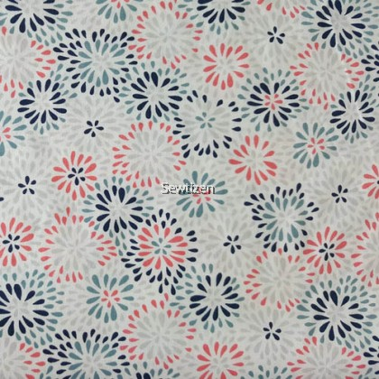 SPLASH OF FLORAL FROM JOANN FABRIC