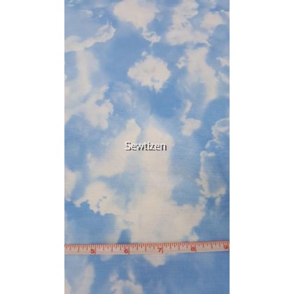 CLOUD BLUE BY GAIL CADDEN
